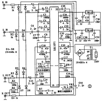 惠威tda7296电路图